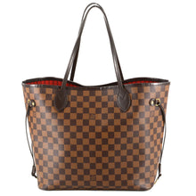 Load image into Gallery viewer, LOUIS VUITTON Damier Ebene Neverfull MM