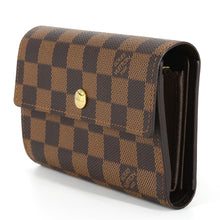 Load image into Gallery viewer, LOUIS VUITTON Damier Ebene Portefeuille Alexandra Trifold Wallet