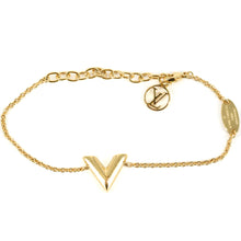 Load image into Gallery viewer, LOUIS VUITTON Essential V Gold Bracelet