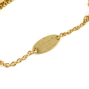LOUIS VUITTON Essential V Gold Bracelet