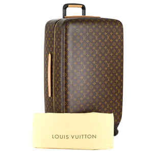LOUIS VUITTON Monogram Canvas Zephyr 70 Rolling Suitcase