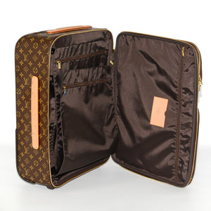 LOUIS VUITTON Monogram Pegase 55 Business Suitcase