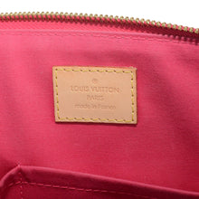 Load image into Gallery viewer, LOUIS VUITTON Bellevue Monogram PM Vernis Fuchsia Tote