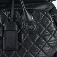 Load image into Gallery viewer, CHANEL Quilted Rolling Weekender Trolley