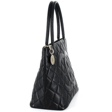 Load image into Gallery viewer, CHANEL Caviar Leather Medallion Tote Bag - Black