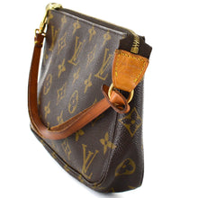 Load image into Gallery viewer, LOUIS VUITTON Monogram Canvas Leather Pochette Bag