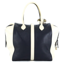 Load image into Gallery viewer, LOUIS VUITTON Speedy Navy North - South