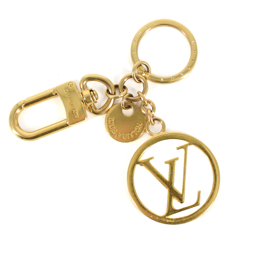 LOUIS VUITTON LV Circle Bag Charm & Key Holder