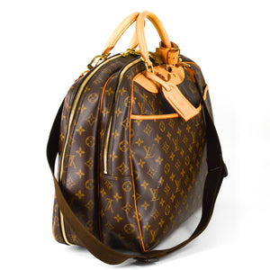LOUIS VUITTON Monogram Canvas Alize 24 Heures Soft Suitcase