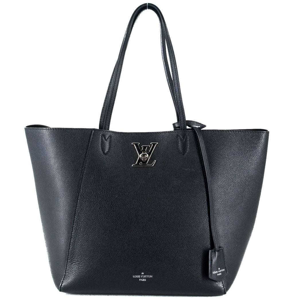 LOUIS VUITTON Lockme Cabas in Black
