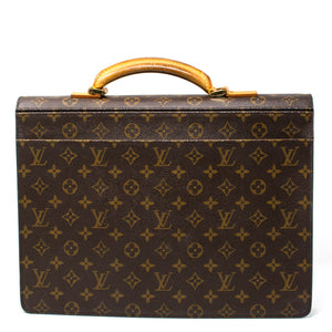 LOUIS VUITTON Monogram Canvas Serviette Conseiller Briefcase Bag