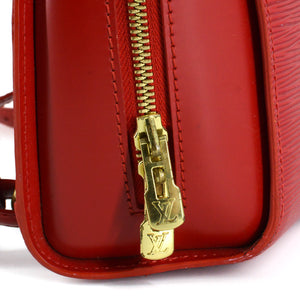 LOUIS VUITTON Red Epi Leather Mabillon Backpack