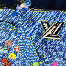 Load image into Gallery viewer, LOUIS VUITTON 2017 Epi Pins Twist Tote