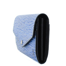Load image into Gallery viewer, LOUIS VUITTON Sarah Wallet Epi Leather Denim