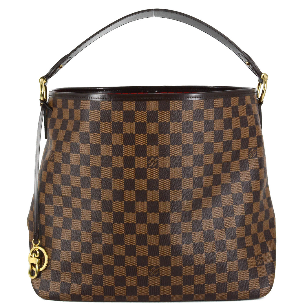 LOUIS VUITTON Damier Ebene Delightful MM