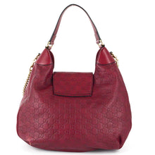 Load image into Gallery viewer, GUCCI Emily Guccissima Leather Ruby Hobo