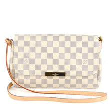 Load image into Gallery viewer, LOUIS VUITTON Damier Azur Favorite MM