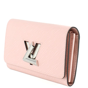 LOUIS VUITTON Twist Wallet, Rose Ballerine