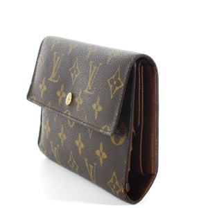 LOUIS VUITTON Monogram Porte Tresor International Long Wallet