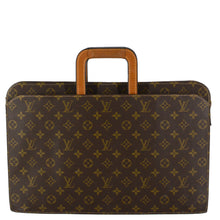Load image into Gallery viewer, LOUIS VUITTON Vintage Monogram Canvas Document Briefcase Bag