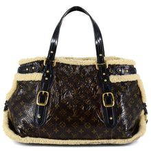 Load image into Gallery viewer, LOUIS VUITTON Limited Edition Monogram Shearling Thunder Bag