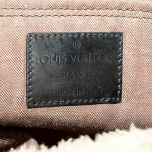 LOUIS VUITTON Limited Edition Monogram Shearling Thunder Bag