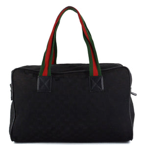 GUCCI Monogram Collapsible Carry-On Duffel Bag