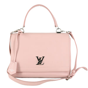 LOUIS VUITTON Leather Lockme II