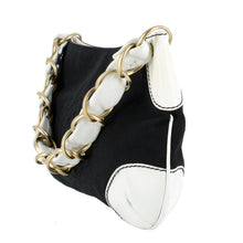 Load image into Gallery viewer, CHANEL Canvas and Leather CC Shoulder Bag