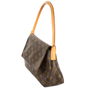 LOUIS VUITTON Monogram Mini Looping Shoulder Bag