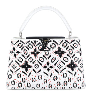 LOUIS VUITTON Fleur Motif Capucines MM Bag