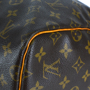 LOUIS VUITTON Monogram Keepall Bandouliere 55