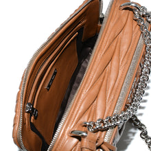Load image into Gallery viewer, MIU MIU Bandoliera Matelasse Cannella Handbag
