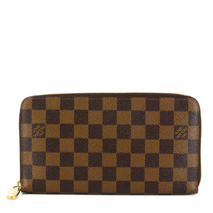 LOUIS VUITTON Damier Ebene Zippy Organizer Wallet