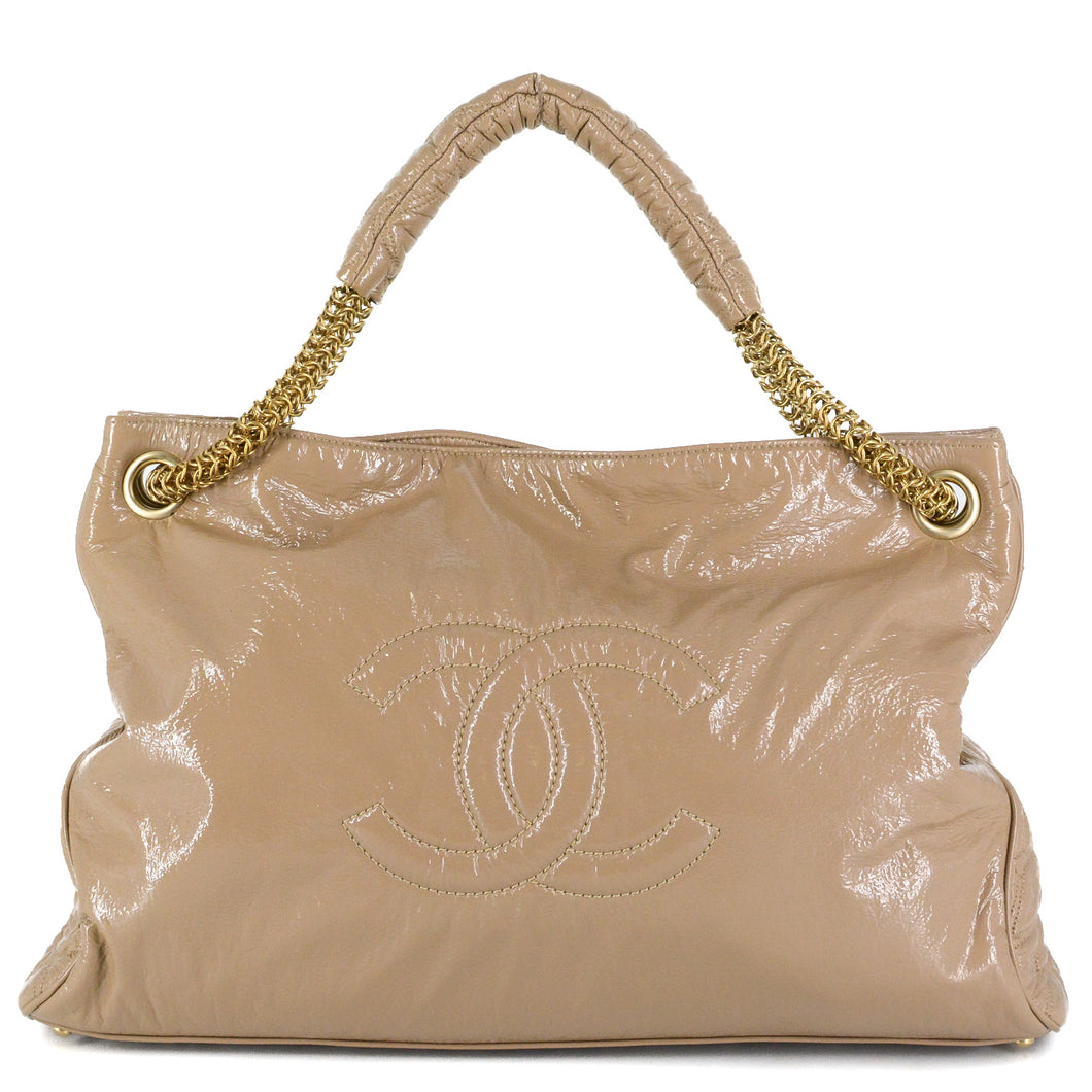 CHANEL Rock and Chain Hobo