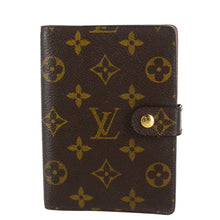 Load image into Gallery viewer, LOUIS VUITTON Monogram Small Ring Agenda Cover