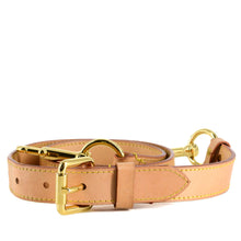 Load image into Gallery viewer, LOUIS VUITTON Vachetta Leather Adjustable Shoulder Strap