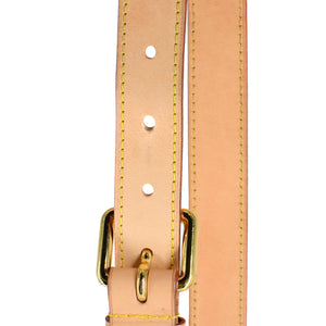 LOUIS VUITTON Vachetta Leather Adjustable Shoulder Strap