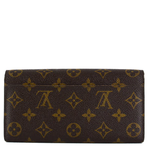 LOUIS VUITTON Monogram Sarah Wallet NM Fuchsia