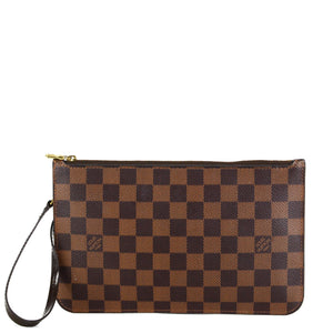 LOUIS VUITTON Damier Ebene Neverfull MM/GM Pochette