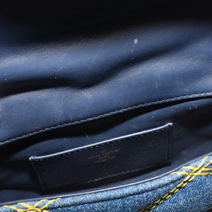 LOUIS VUITTON Denim Malletage GO-14