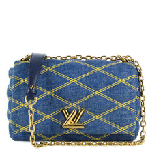 Load image into Gallery viewer, LOUIS VUITTON Denim Malletage GO-14
