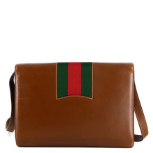 Load image into Gallery viewer, GUCCI Web Buckle Messenger Crossbody