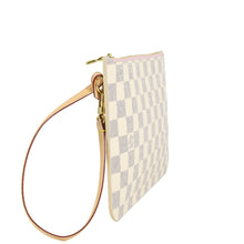 Load image into Gallery viewer, LOUIS VUITTON Damier Azur Neverfull MM/GM Pochette Rose Ballerine