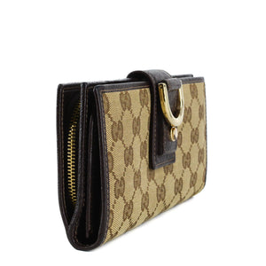 GUCCI GG Monogram D Ring Long Wallet