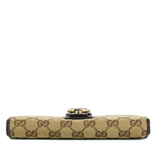 Load image into Gallery viewer, GUCCI GG Monogram D Ring Long Wallet
