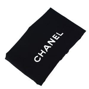 CHANEL Quilted Cloth Handbag