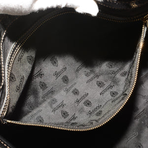 GUCCI Dialux Medium Britt Shoulder Bag