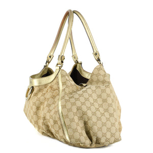 GUCCI GG Monogram D-Ring Shopping Bag