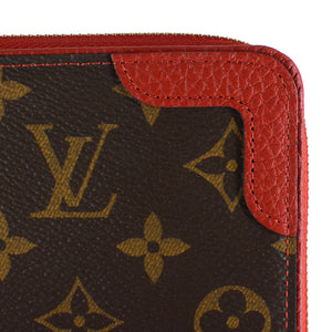 LOUIS VUITTON Monogram Zippy Wallet Retiro